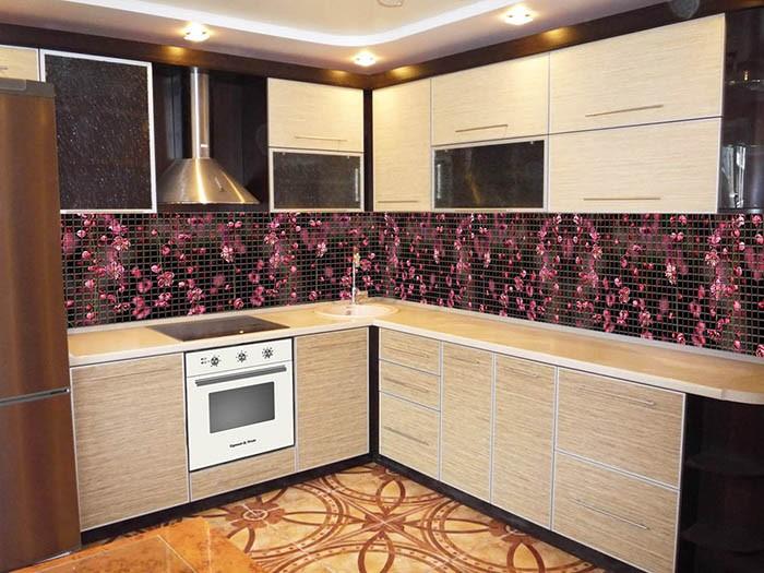 кухонные фартуки из стекла на заказ в казани каталог изображений