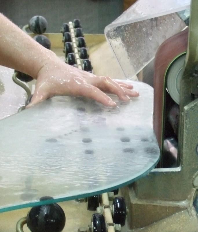 Обработка стекла в домашних условия